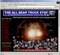 Rest Area Trucker Sex, The Popular All Bear Truck Stop!