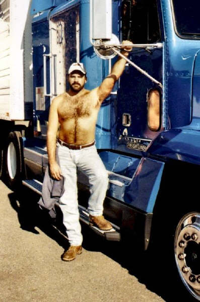 Trucker gay stories truck stop shower
